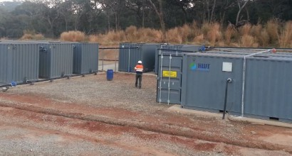 Kipoi camp site - sewage treatment plant